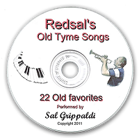Redsals New CD - Old Tyme Songs